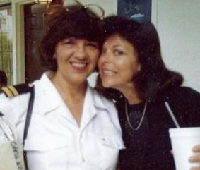 Claire Reppen mit Carol Kramer ca 1994